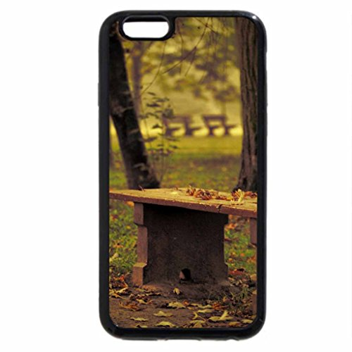 iPhone 6S / iPhone 6 Case (Black) a bench