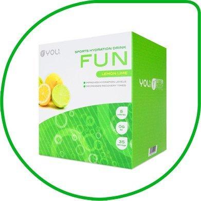 Yoli Fun Sports Hydration Drink Packets by Yoli