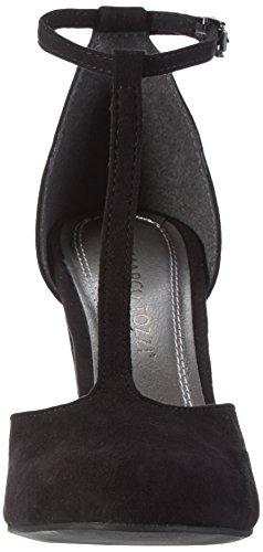 Zapatos Tacón Negro black 001 Marco De Mujer Tozzi 24413 SHxwfqF