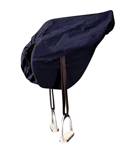 Fleece Lined Saddle Cover - Cashel English Saddle Shield Rain Cover for Riding
