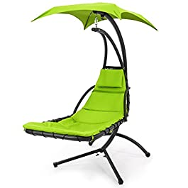 Best Choice Products Hanging Chaise Lounger Chair ...