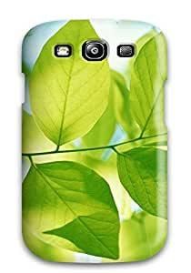 New Premium Case Cover For Galaxy S3/ Green Leaves Protective Case Cover 6210535K48055457
