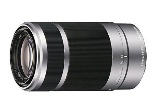Sony E 55-210mm F4.5-6.3 OSS Lens for Sony E-Mount Cameras