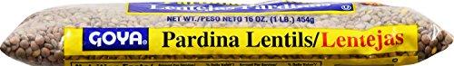 Goya Foods Dry Lentils (Pardina Lentils), 16-Ounce (Pack of 24) by Goya (Image #1)