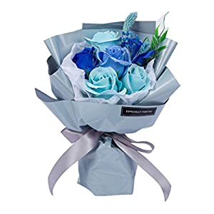 minjiSF Artificial Rose Flowers Wedding Bouquet Best Gifts Ideas 10