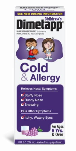 Dimetapp Cold & Allergy Elixir, 8-Ounce Boxes (Pack Of 2)