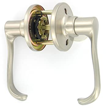 Dexter By Schlage J10VTOR619 Torino Passage Lever, Satin Nickel