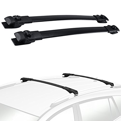 (Partol Roof Rack Cross Bars for Toyota Sienna OE Style 2011 2012 2013 2014 2015 2016 2017, Roof Top Crossbars Luggage Rail Rack Cargo Carrier for Canoe Kayak Bike)