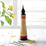 Storeindya Diwali Gifts Boxes Ideas Diwali Games Boxes Festive Décor Gifts for All decoration festival of lights Dipawali Diwali gifts Diwali puja Deepawali décor Wooden Incense Stick Tower Cone Burner Holder Ash Catcher Hand Carved Home Decor Fragrance Accessories
