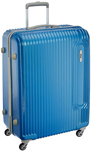 VIP Tube Polycarbonate 54 Ltrs Artic Blue Suitcase (TUBE65ATB)