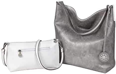 f4fc00302180 Shopping Silvers or Clear - Faux Leather - Handbags & Wallets ...