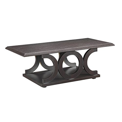 Coaster Home Furnishings 703148 Casual Coffee Table, Cappucc