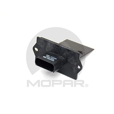 Mopar 5019189AA Blower Motor Resistor: Automotive