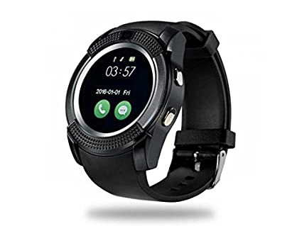 SMARTWATCH V8 / iOS/Android (Negro): Amazon.es: Relojes
