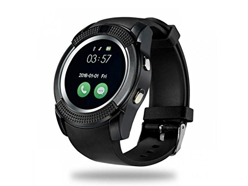 SMARTWATCH V8/IOS/ANDROID (Negro): Amazon.es: Relojes