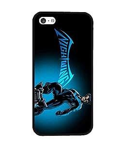 Unique Design Iphone 5c Back Fundas Case & Cover for Nightwing invasion fictional superhero Amazing Hard Plastic