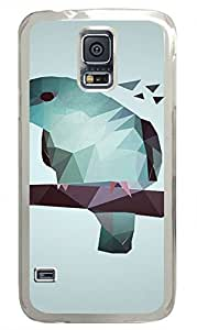 Transparent Fashion Case for Samsung Galaxy S5 Generation Plastic Case Cover for Samsung Galaxy S5 with Art Owl