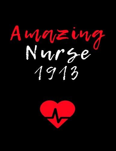 Amazing Nurse 1913: Blank Lined Journal 8.5x11: Delta Sigma Theta gift for a soror; Gift for sisterhood or future soror