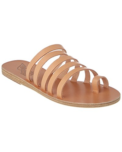 - Ancient Greek Sandals Niki Leather Sandal, 37, Beige
