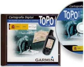 GARMIN Cartografia dvd topo espana cartografia: Amazon.es: Deportes y aire libre