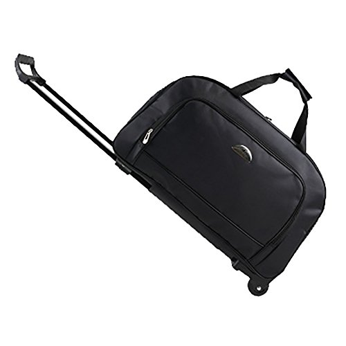 - Meetbelify 20 Inches Wheeled Luggage Rolling Duffle Trolley Bag Travel Bag Tote Carry-On Backpacks,#02
