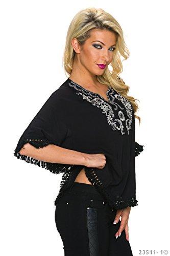 Unbekannt - Camiseta sin mangas - para mujer negro