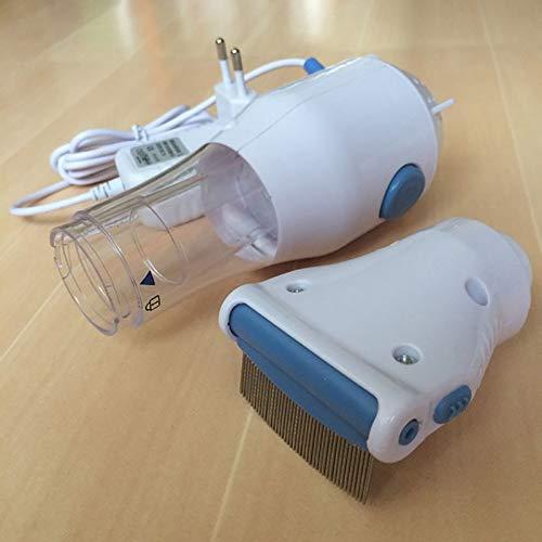 V2AMZ - Electric Flea Comb Puppies Fleas Treatment Safe Pets Kill for Dogs Cats Pet Supplies Comb EU 220 V by V2AMZ (Image #5)