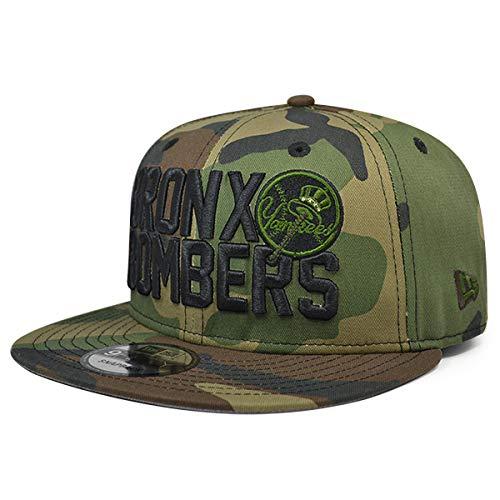 fe5b254c1d3 Amazon.com   New Era Bronx Bombers York Yankees Snapback 9Fifty MLB Hat -  Woodland Camo   Sports   Outdoors