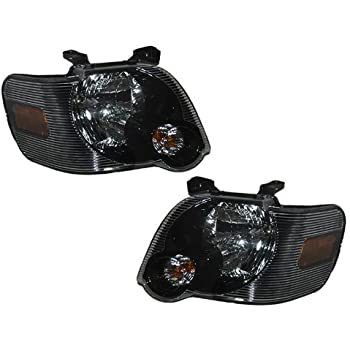 Amazon Com Ford Explorer Sport Trac Headlights Oe Style
