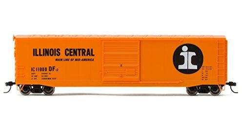 Illinois Central Gulf Railroad (Rivarossi #11000 Illinois Central Railroad Box Car with Sliding Door (HO Scale))