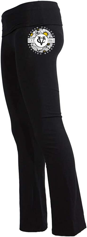 Venley Official NCAA Vassar College 1701GS01 Womens Yoga Pant
