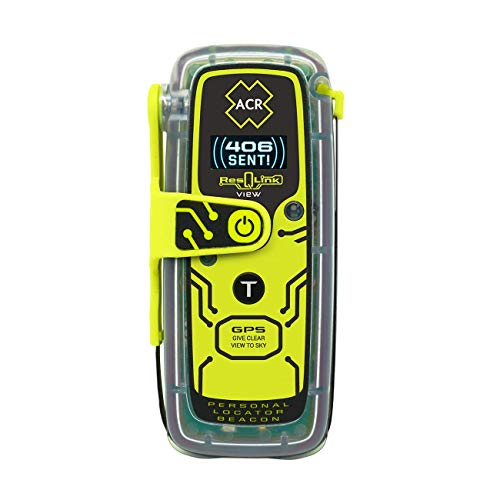 - ACR ResQLink View - Buoyant GPS Personal Locator Beacon (Model PLB-425)