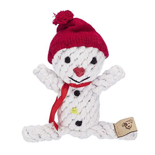 Dog Toy - Snowman Rope Toy - Toy Rope Snowman