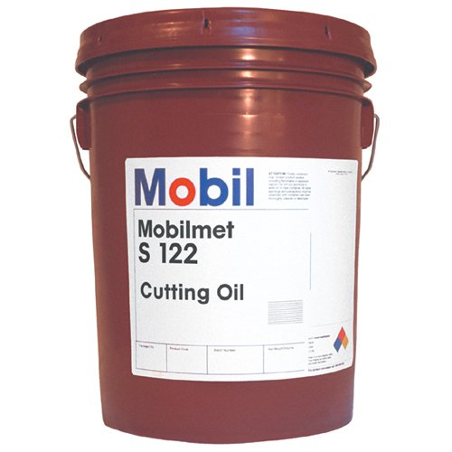 MOBIL Mobilmet S-122 Water Soluble Cutting Oil - Container Size: 5 Gallon Pail MFR : 98G401 by Mobil