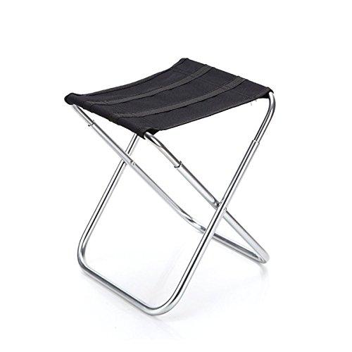 VORCOOL Alumium Klappstuhl Stuhl Angeln Camping Outdoor Sitz Tragetasche