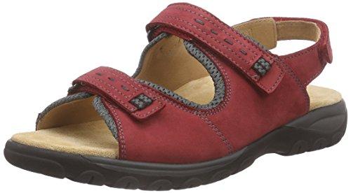Ganter Glady, Weite G - Sandalias Mujer Rojo - Rot (rosso/asphalt 4161)