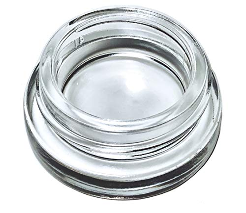 7ml Glass Jars with White Lids (180-Pack) Lip Balm - Concentrate Containers - homemade by Infinite Containers (Image #2)