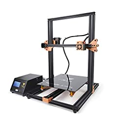 TEVO TORNADO 3D PRINTER  Brand: Tevo  Type: DIY  Model: Tornado  Frame material: Aluminum  Nozzle diameter: 0.4mm  Product forming size: 300 x 300 x 400mm  Memory card offline print: SD card  LCD Screen: Yes  Print speed: 150mm/s  Supporting ...