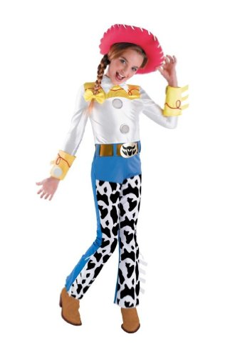 [Jessie Deluxe Child Costume - Medium] (Toy Story Jessie Deluxe Costumes For Babies)