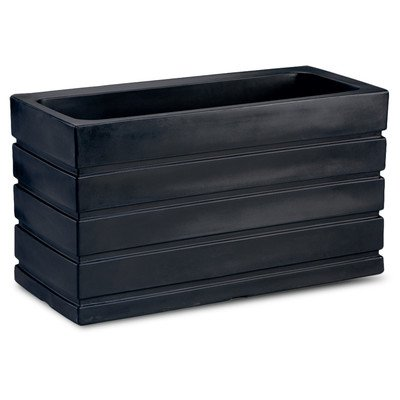 Ellis Rectangle Rail Planter by Crescent Garden