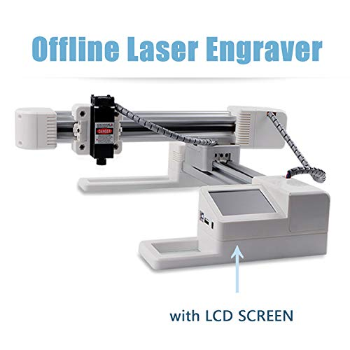 Lifbetter Laser Engraver with 3000mW Laser Head, CNC Laser Engraving Printer Marking Machine, DIY Laser Cutter Machine ()