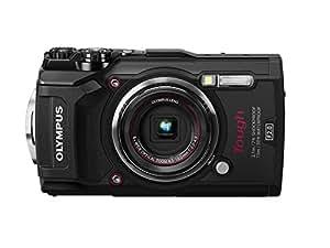 Olympus TG-5 - Cámara digital (ultraresistente, sumergible, vídeos en 4K, 4 modos de macro, WiFi integrado), color negro