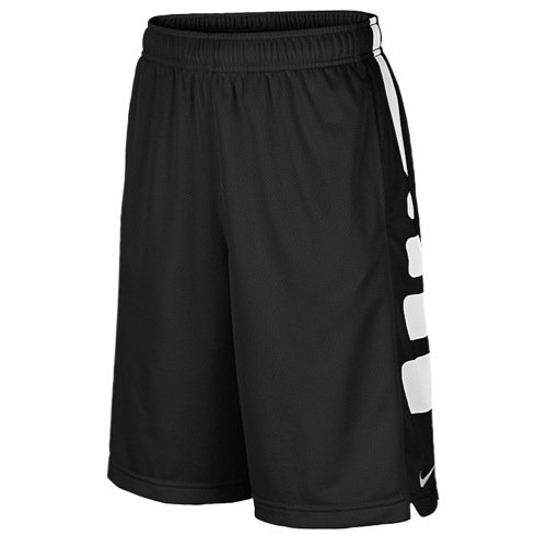 Nike Kids Elite Stripe Shorts, black/white, Small