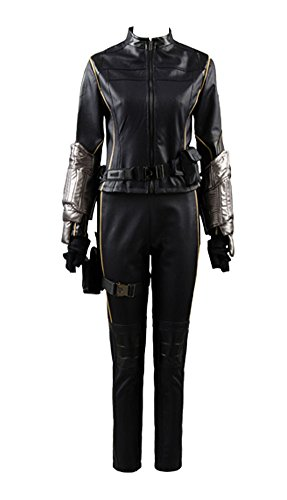 Womens Halloween Costume Agents of Shield S.H.I.E.L.D Quake Daisy Johnson Skay Outfit Cosplay Costume ,Medium