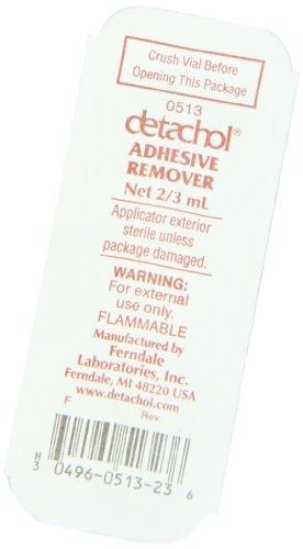 Detachol Adhesive Remover 2/3cc Vial, 1 Vial by Detachol (Image #2)