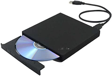 KKJACK USB 2.0 External CD//DVD Drive for Compaq presario v6117eu