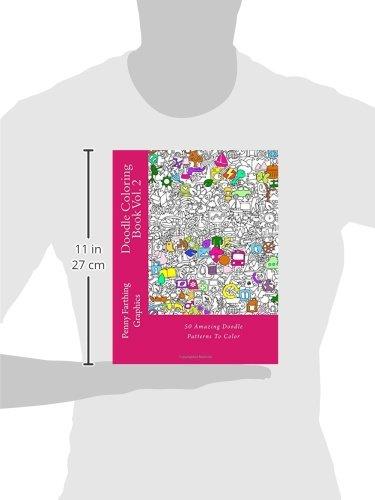 Doodle Coloring Book Vol 2 Marti Jos 9781500605162 Amazon Books