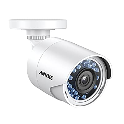 ANNKE 1080P Starlight DE-Noise Security Camera, 2.0MP HD-TVI Surveillance Bullet Camera with Indoor/Outdoor IP66 Weatherproof Housing, Super Night Vision, Wide Angel of View by ANNKE