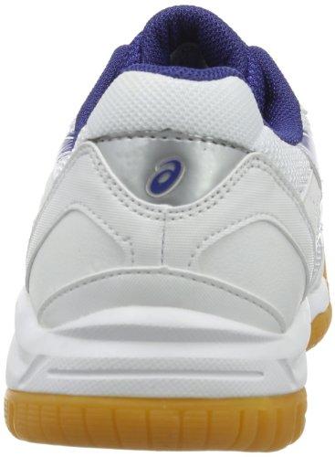 Asics Gel-doha - Zapatos de cordones Niños Weiß (White Dark Blue Silver)