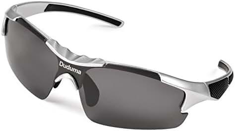 Duduma Polarized Casual Sports Sunglasses for Baseball Cycling Fishing Golf Tr46 Unbreakable Multicolor Frame